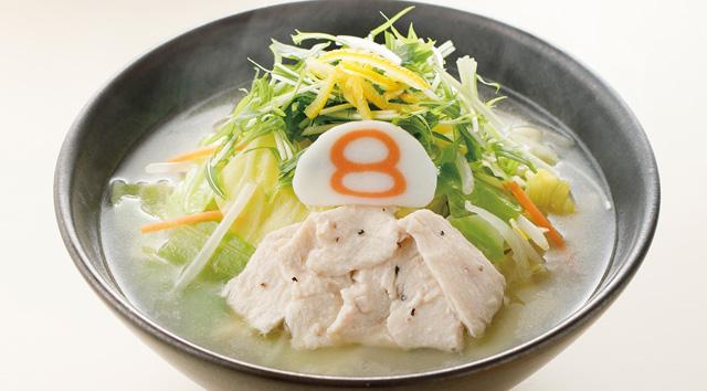 野菜ゆず塩ラーメン調理イメージ